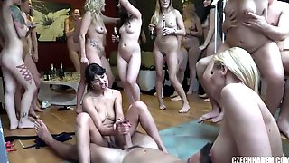 The Hottest Amateur Orgy Party With The Sluttiest Brunettes