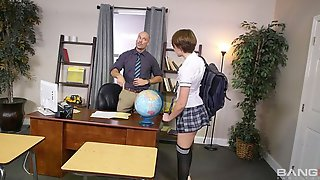 The Might Boss And An Innocent Young Secretary Nataly Porkman