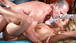 Sensual Blonde With Big Tits Cherry Kiss Cheats On Her Hubby