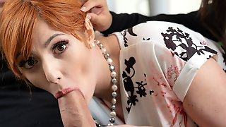 Two Playful Babes Lauren Phillips And Autumn Falls Fucked On The Couch