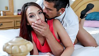 Redhead Young Model Ava Haze And Her Favorite Massive Sausage