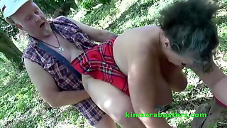 Kim & Joolz Fucked By Two Lumberjacks