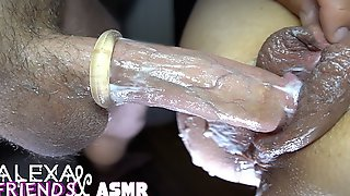ASMR PUMPED PUSSY FUCK. Step Moms Massive Creamy Milf Pussy Cumshot