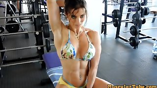 Female Muscle Long Workout - Fetish Video
