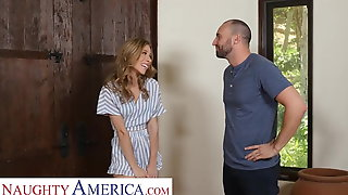 Naughty America Anya Olsen Seduces Her Friends Dad