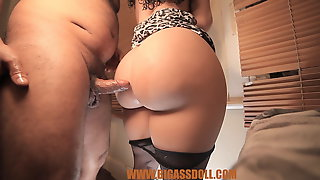 Touching My Doll Big Ass With My Dick, Cock Betwen Ass Cheek
