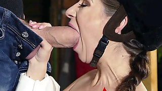 Cassidy Klein Sucks Danny Ds Monster Cock