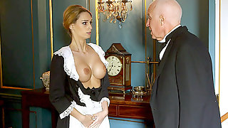 The Perverts Of Downton Grabby Groping Erica Fontess Brilliant Tits