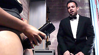 Waitress Jenna J Foxx Seducing Maitre D Johnny Castle