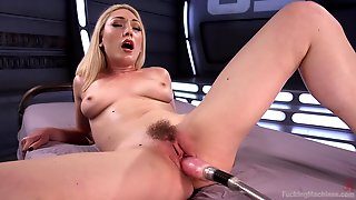 Horny Lily Labeau Wants To Try All Sex Machines And BDSM Games