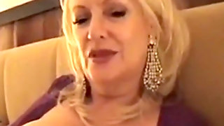 Gigolo & Rich Mature Prostitute With Client In Hotel Room