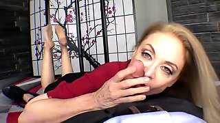Nina Hartley Nylon Feet Footjob And Blowjob