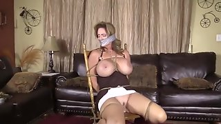 Mature Taped Up