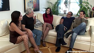 Foursome With Hot Amber Is Something That Her Friends Remember