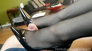 Louboutin Heeljob / Shoejob - This Is What Happens When You Buy Me Heels