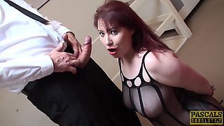 Thick Donna Austin Knows How To Handle A Prick