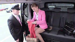 Hot Czech Redhead Chrissy Fox Has Sex With Her Personal Driver
