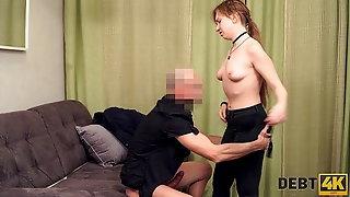 Debt4k. Sexy Student Alice Klay Doesnt Have A Job