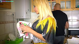 Appetizing Hungarian MILF Tiffany Rousso Thirsts For Steamy Sex