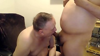 Old Gay Gives Blowjob And Fucked Bareback