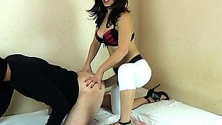Pegging Huge Strapon 1080p