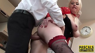 Sub Spanked And Fucked