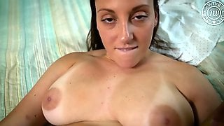 Chubby Wife Melanie Hicks In Hot POV Sex Video