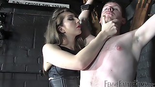 Rough Seduction For Her Male Slave In Scenes Of Femdom