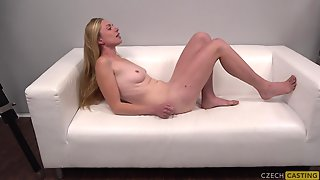 Lovely Blond Hair Lady At Casting - Hot POV Sex