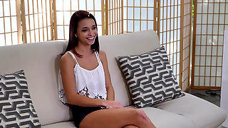 Paisley Rae Gets Interviewed And Fucked On The Casting Couch