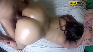 Big Ass Oiled And Fucked Doggy Style