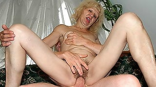 Ugly 83 Years Old Mom Big Cock Fucked