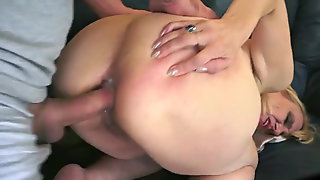 Round Booty Anal Granny