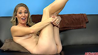 Housewife Lady In Naked Interview - Blond MILF