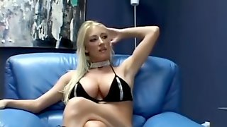 Hardcore Sex With Pretty Blonde. Great Boobs
