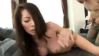 Horny Japanese Slut Opens Hairy Pussy For Hardcore Pounding