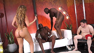 Big Ass Richelle Ryan Rides BBC In Front Of A Cuckold