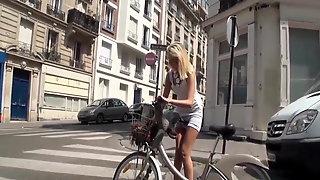 Chienne Blonde Veut Ma Bite