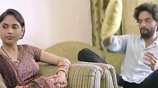 Garam Bhabhi Spending Her Night With Her Boyfriend & Doing Masti All Night Long