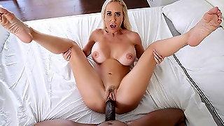 PUREMATURE Big Tit Milf Brandi Love Fucks Big Python Dick