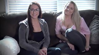 RAW CASTINGS - New Teen WOW BELLA First Session On The Couch EP1 4K