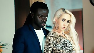Big Black Lover Is Having Fun With A White Angel Christina Shine