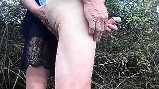 Finger In Bum Plus Teeth On Nipple Equals Cum