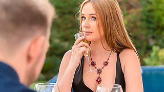 Beauty With Perky Tits Kaisa Nord Screwed By A Brown Cock