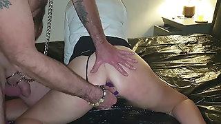15.12.2019 Slutty Schoolgirl Get Her Pussy And Arse Stuffed