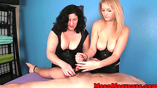 Massage Babes Blue Ball Their Bound Sub
