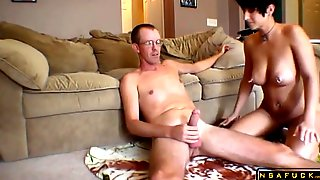 Homemade Sex Rough Housewife Pound With Man Milk Swallow