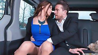 Sexy Czech Teen Bella Scaris Gets Fucked By Driver Luke Hotrod In His Car