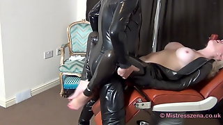 Blonde Dom Taking Cock