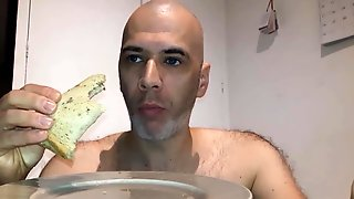 Request Video: Cum On Bread And Eat